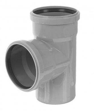 Тройник 90° для внутренней канализации VALFEX