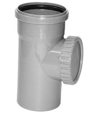 Ревизия с крышкой для внутренней канализации VALFEX